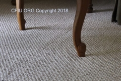 Carpet seam