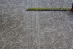White lines in carpet