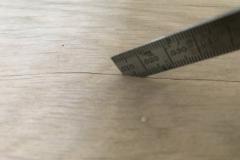 Unfinished Engineered Wood Veneer Splits