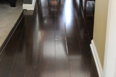 Laminate floor Seam Swelling