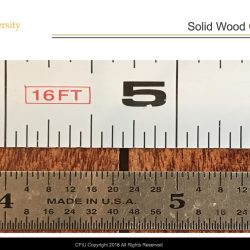Measuring hardwood flooring